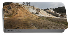Mammoth Hot Springs Portable Battery Charger by Belinda Greb