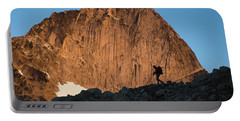 Man Mountaineering In The Bugaboo Portable Battery Charger