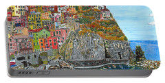 Manarola In Cinque Terra Portable Battery Charger