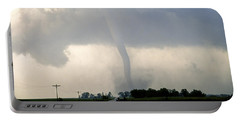 Portable Battery Charger featuring the photograph Manchester Tornado 1 Of 6 by Jason Politte