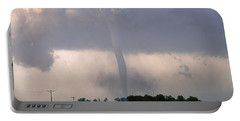 Portable Battery Charger featuring the photograph Manchester Tornado 2 Of 6 by Jason Politte