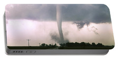 Portable Battery Charger featuring the photograph Manchester Tornado 4 Of 6 by Jason Politte