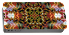 Mandala 120 Portable Battery Charger by Terry Reynoldson
