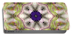 Portable Battery Charger featuring the digital art Mandala 127 by Terry Reynoldson