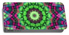 Portable Battery Charger featuring the digital art Mandala 29 by Terry Reynoldson