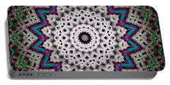 Mandala 37 Portable Battery Charger by Terry Reynoldson