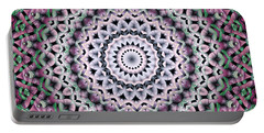 Portable Battery Charger featuring the digital art Mandala 38 by Terry Reynoldson