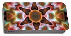 Portable Battery Charger featuring the digital art Mandala 68 by Terry Reynoldson