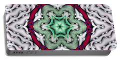 Portable Battery Charger featuring the photograph Mandala 7 by Terry Reynoldson