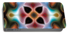 Portable Battery Charger featuring the digital art Mandala 82 by Terry Reynoldson