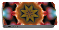 Portable Battery Charger featuring the digital art Mandala 94 by Terry Reynoldson
