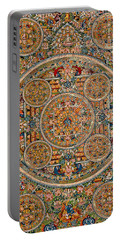 Mandala Of Heruka In Yab Yum And Buddhas Portable Battery Charger