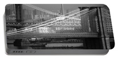 Manhattan And Brooklyn Bridge's Portable Battery Charger