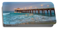 Manhattan Beach Reflections Portable Battery Charger