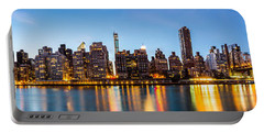 Manhattan Panorama And Queensboro Bridge Portable Battery Charger