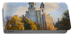 Manti Temple Portable Battery Charger