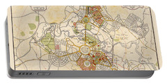 Map Of Canberra 1927 Portable Battery Charger