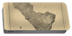 Map Of West Point 1883 Portable Battery Charger