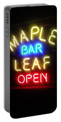 Maple Leaf Bar Portable Battery Charger