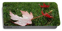 Maple Leaf In Canada Portable Battery Charger