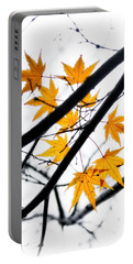 Portable Battery Charger featuring the photograph Maple Leaves by Jonathan Nguyen