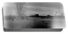 Portable Battery Charger featuring the photograph Maple Ridge Rd Farm by Daniel Thompson