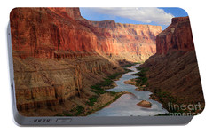 Marble Canyon - April Portable Battery Charger by Inge Johnsson