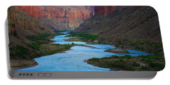Marble Canyon Rafters Portable Battery Charger by Inge Johnsson