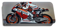 Marc Marquez Portable Battery Charger