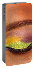 Mardi Gras 2014 Eye See Colors Of Mardi Gras Portable Battery Charger