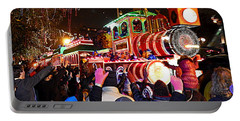 New Orleans Mardi Gras 2014 Orpheus Super Float Smokey Mary Portable Battery Charger
