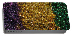 Mardi Gras Beads - New Orleans La Portable Battery Charger