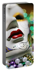 Mardi Gras II Portable Battery Charger by Trish Mistric