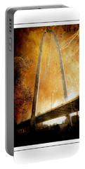 Margaret Hunt Hill Bridge Dallas Texas Portable Battery Charger