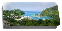 Marigot Bay, St Lucia Portable Battery Charger