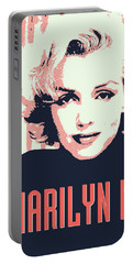 Marilyn M Portable Battery Charger