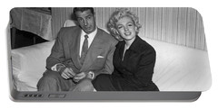 Marilyn Monroe And Joe Dimaggio Portable Battery Charger