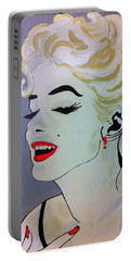 Marilyn Monroe Beautiful Portable Battery Charger