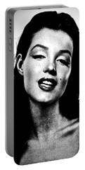 Marilyn Monroe--brunette Portable Battery Charger
