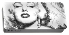Marilyn Monroe - The One And Only  Portable Battery Charger