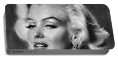 Beautiful Marilyn Monroe Unique Actress Portable Battery Charger by Georgi Dimitrov