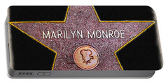 Marilyn Monroe's Star Painting  Portable Battery Charger