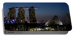 Marina Bay Skyline Portable Battery Charger