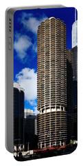 Marina City Corncob Tower Portable Battery Charger