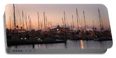 Marina Sunrise 12 Portable Battery Charger by Leticia Latocki