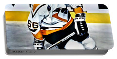 Mario Lemieux Portable Battery Charger