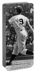 Maris Hits 52nd Home Run Portable Battery Charger by Underwood Archives