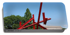 Mark Di Suvero Steel Beam Sculpture Portable Battery Charger