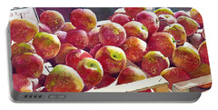 Market Apples Portable Battery Charger