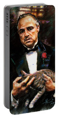 Marlon Brando The Godfather Portable Battery Charger